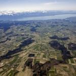 Photo prise par Strato-2 à une altitude de 3'500m